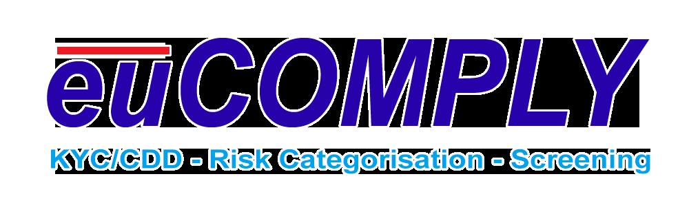 eu comply KYC/CDD - Risk Categorisation - Screening